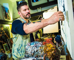 Alumni Story: EIFF opening-night film features ex-Edmonton painter Tim Okamura